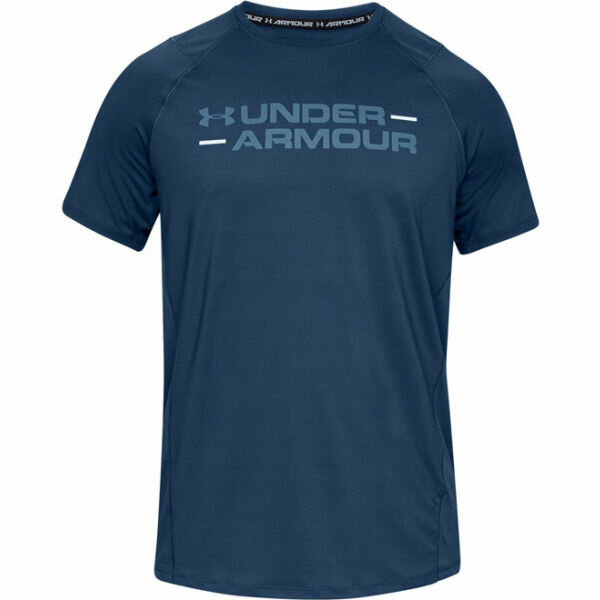 Modré pánské tričko s krátkým rukávem Under Armour - velikost S