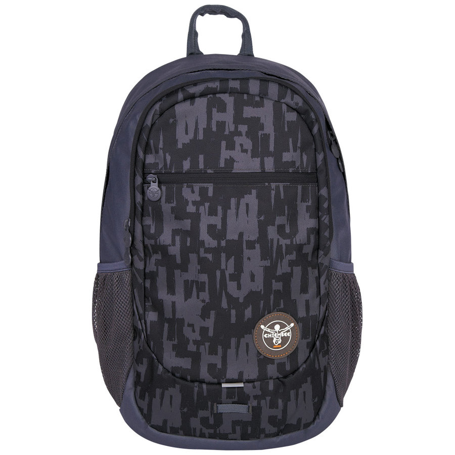 Batoh - Chiemsee Techpack two backpack S16 Typo black