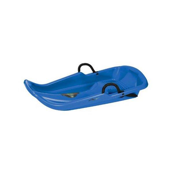 Modré dětské boby s brzdami Plastkon