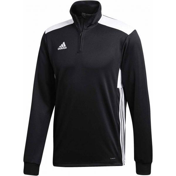 Černá pánská mikina bez kapuce Adidas