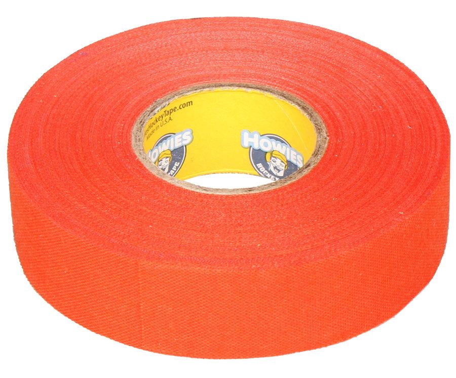 Hokejová omotávka - Howies Textilní páska na hokej 23 m x 2,4 cm oranžová