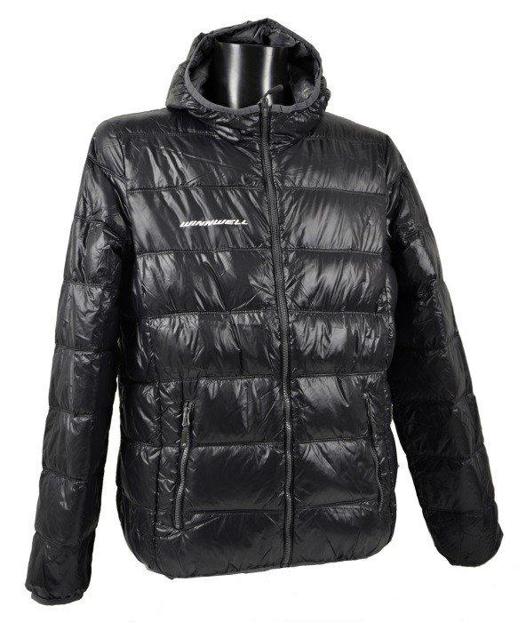 Černá pánská bunda s kapucí JN 1060 SR, Winnwell