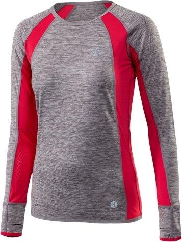 Šedé dámské běžecké tričko Klimatex - velikost XS