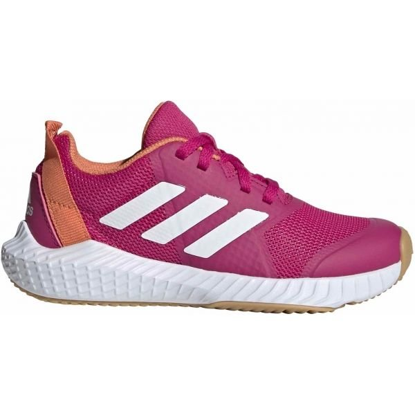 Růžová dívčí sálová obuv Adidas