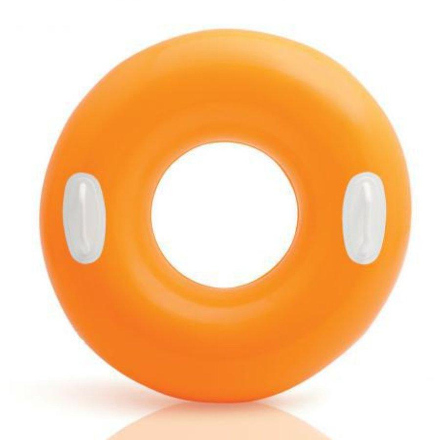 Oranžový dětský nafukovací kruh INTEX