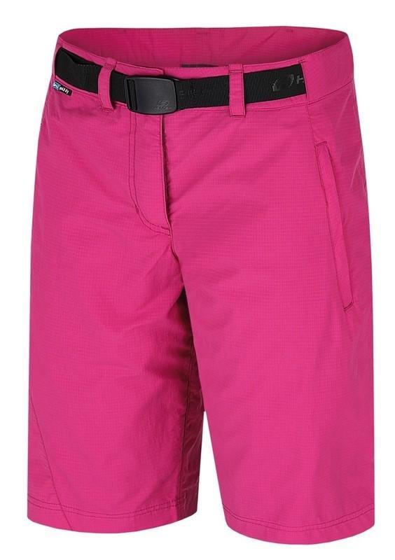 Růžové dámské kraťasy Hannah - velikost 34