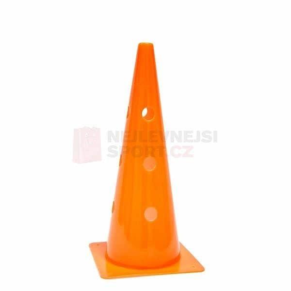Oranžový tréninkový kužel Spartan - 1 ks