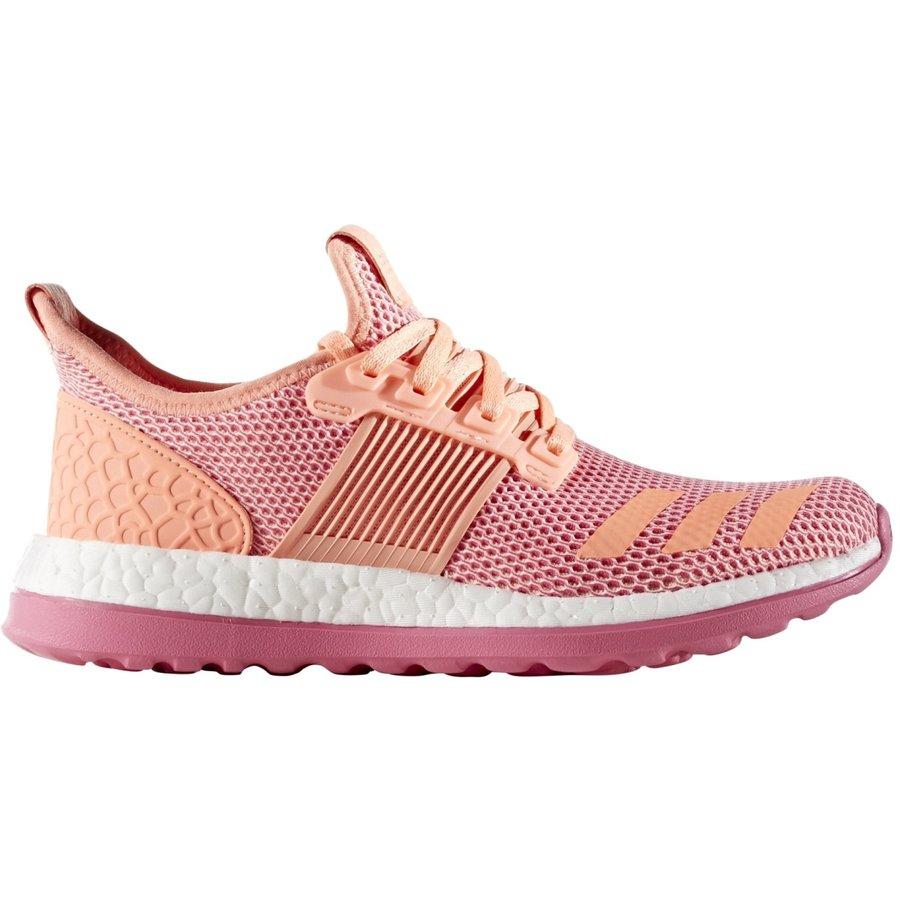 Růžové dětské dívčí běžecké boty Pureboost, Adidas - velikost 38 EU