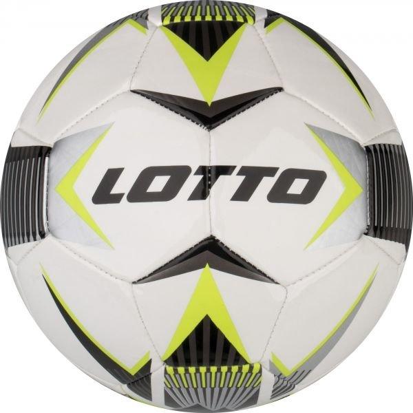 Bílo-černý fotbalový míč Lotto