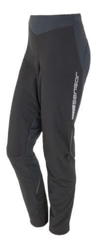 Černé dámské kalhoty na běžky Sensor