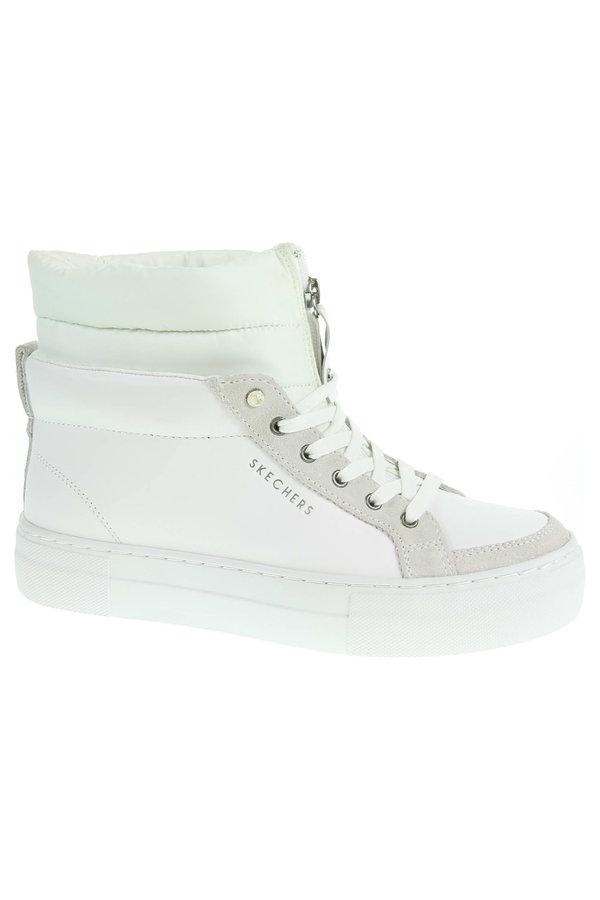 Bílé dámské kotníkové boty Skechers - velikost 37 EU