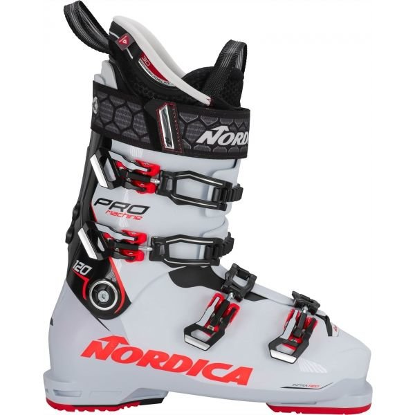 Bílé pánské lyžařské boty Nordica - velikost vnitřní stélky 29,5 cm