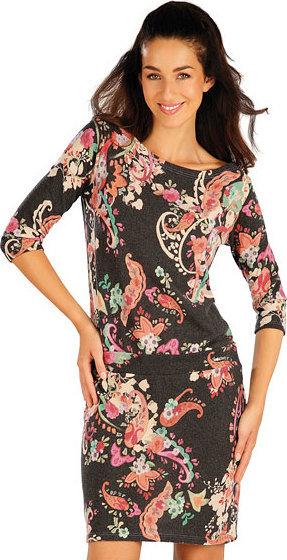 Šedé dámské šaty Litex - velikost XL
