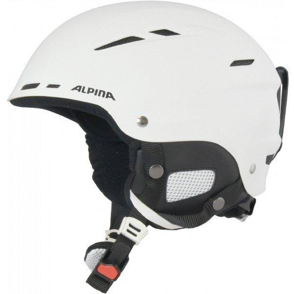 Bílá dámská lyžařská helma Alpina Sports - velikost 50-54 cm