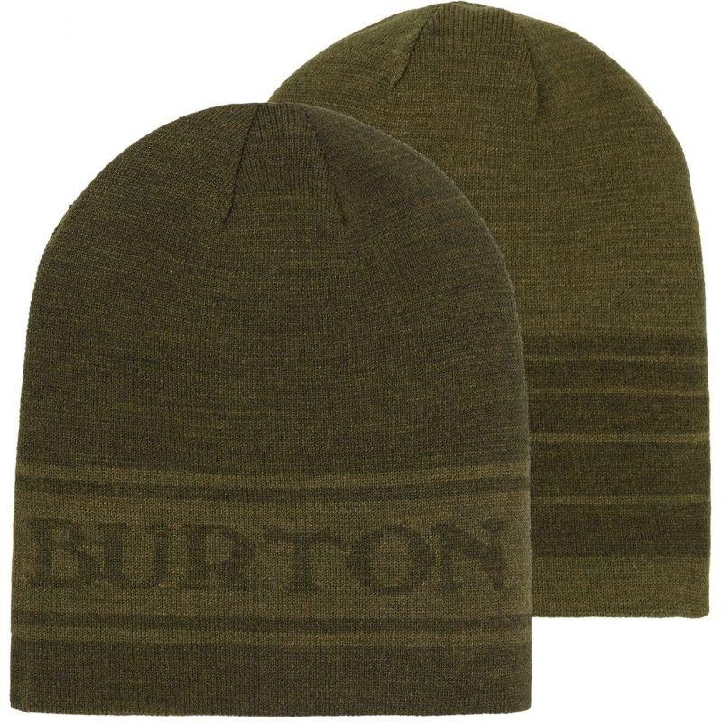 Zelená zimní čepice Burton - univerzální velikost