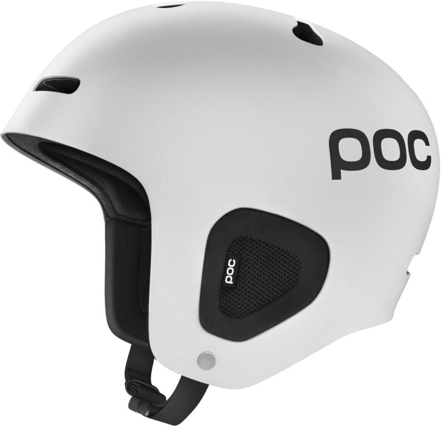 Bílá pánská helma na snowboard POC - velikost 51-54 cm