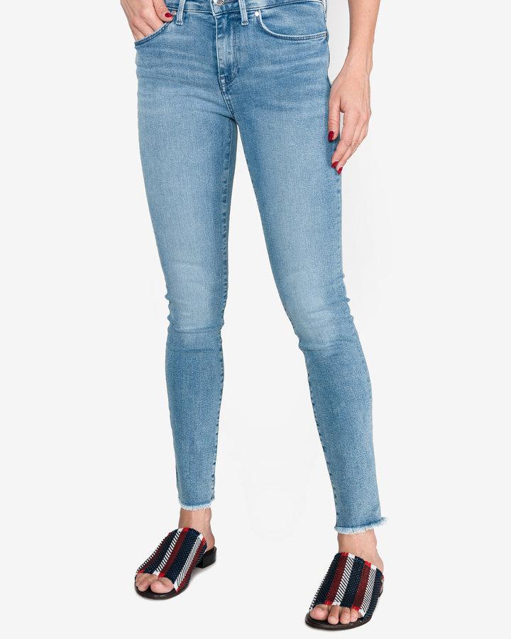 Modré dámské džíny Tommy Hilfiger - velikost 29