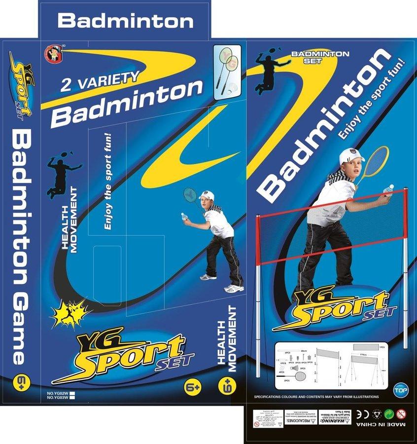 Badmintonová sada Alltoys