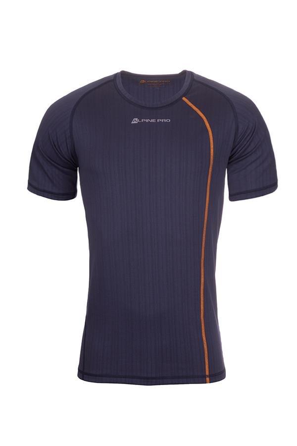 Modré pánské funkční tričko Alpine Pro - velikost XXL
