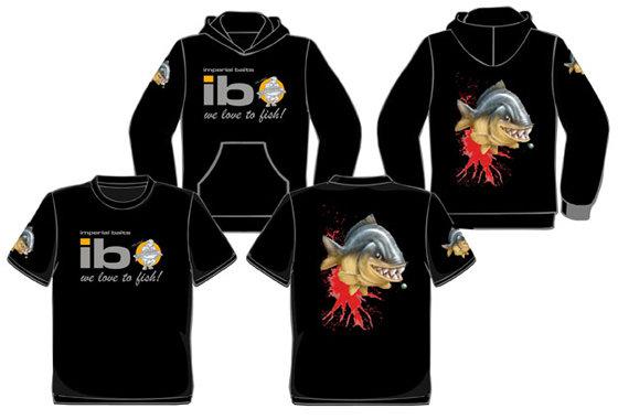 Černé pánské rybářské tričko Imperial Fishing