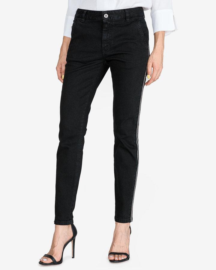 Černé dámské džíny Just Cavalli - velikost 27