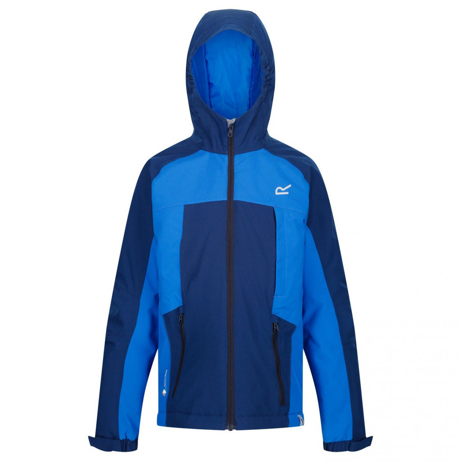 Modrá zimní chlapecká bunda s kapucí Regatta