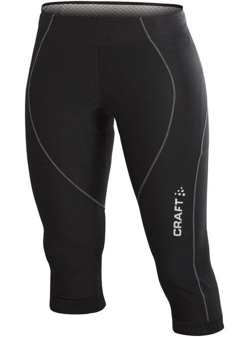 3/4 dámské cyklistické kalhoty s vložkou Craft - velikost L