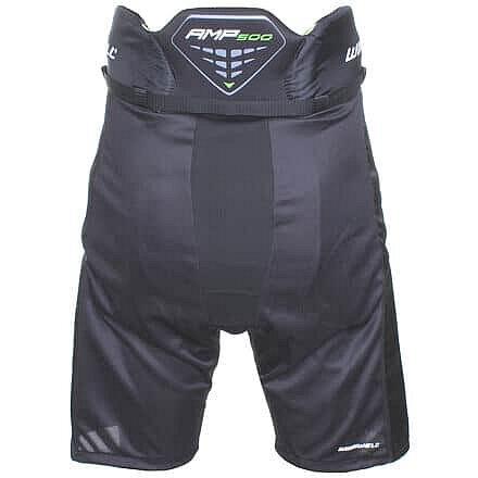 Černé hokejové kalhoty - senior Winnwell - velikost S