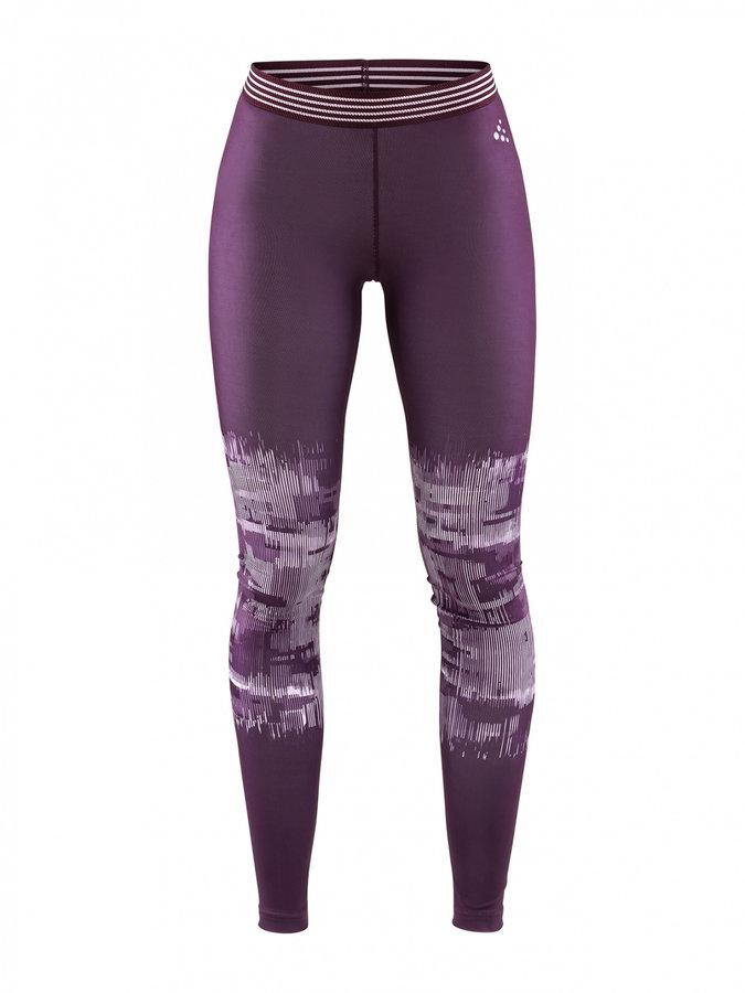 Černo-šedé dlouhé dámské cyklistické kalhoty Craft - velikost M