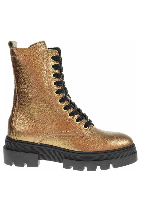 Hnědé dámské zimní boty Tommy Hilfiger