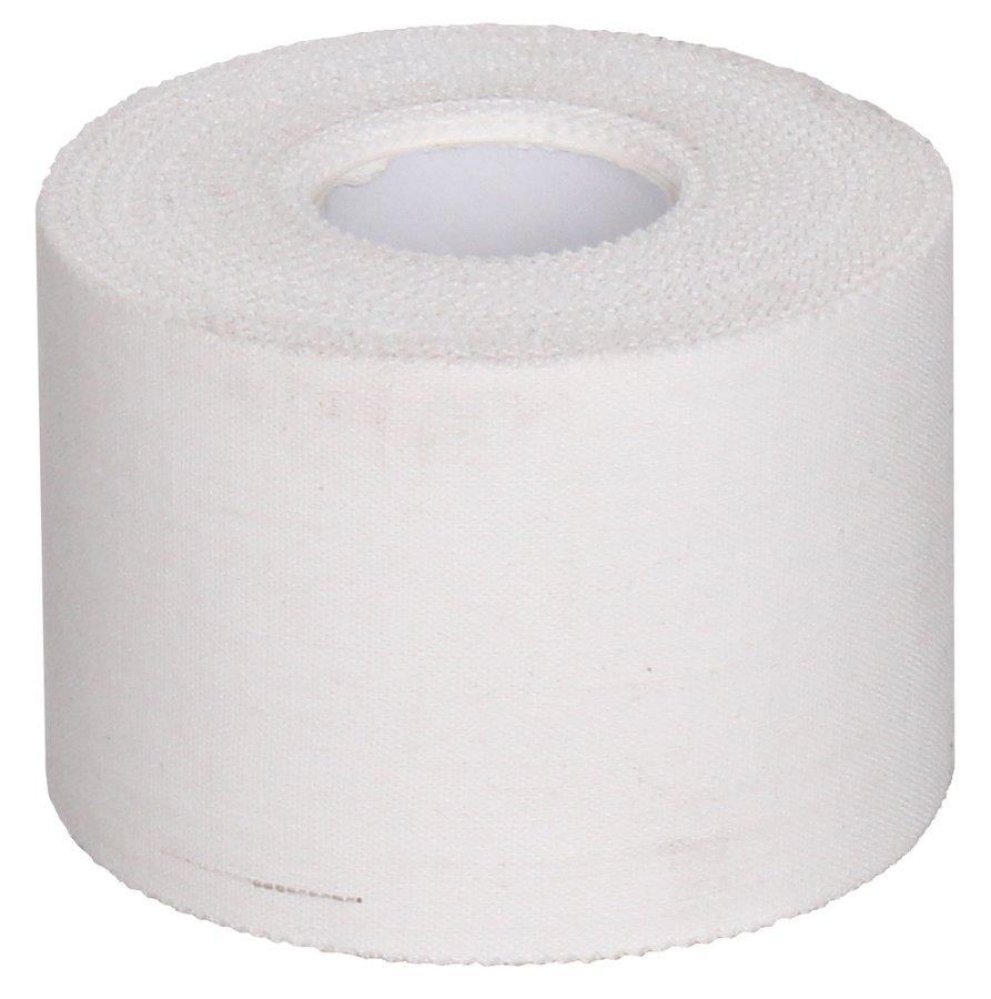 Bílá tejpovací páska Merco - délka 13,8 m a šířka 5 cm
