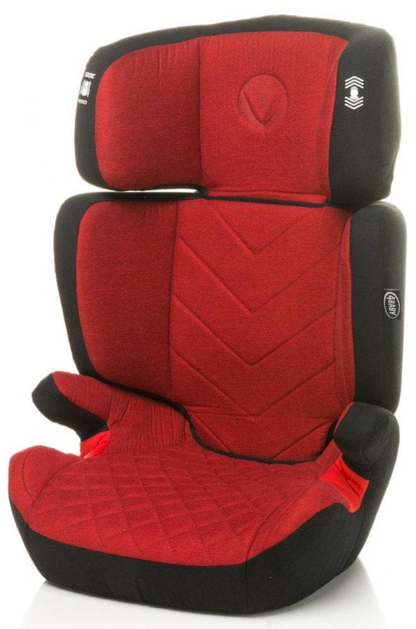 Červená dětská autosedačka VITO, 4Baby - nosnost 36 kg