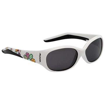 Bílé cyklistické brýle Alpina