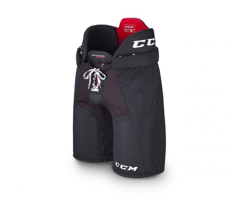 Černé hokejové kalhoty CCM - velikost L