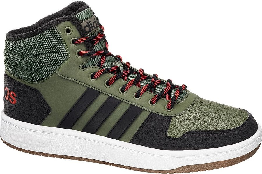 Zelené pánské tenisky Adidas - velikost 43 1/3 EU