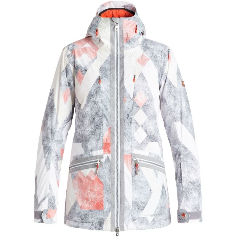Bílá dámská snowboardová bunda Roxy - velikost XS