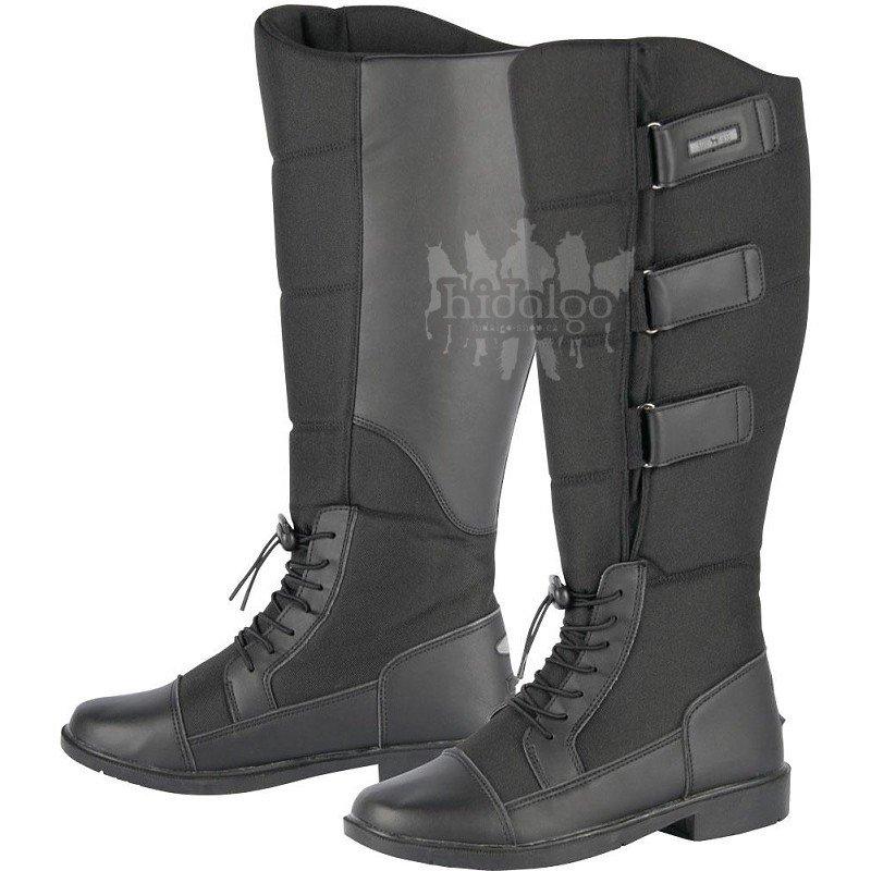 Černé zimní unisex jezdecké boty Harry's Horse
