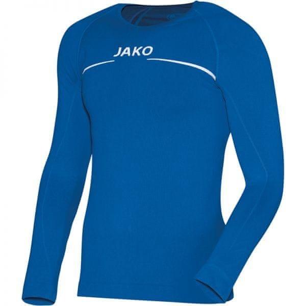 Modré pánské basketbalové tričko s dlouhým rukávem Jako - velikost XL