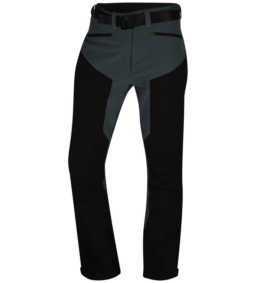Černé pánské kraťasy Husky - velikost XXL