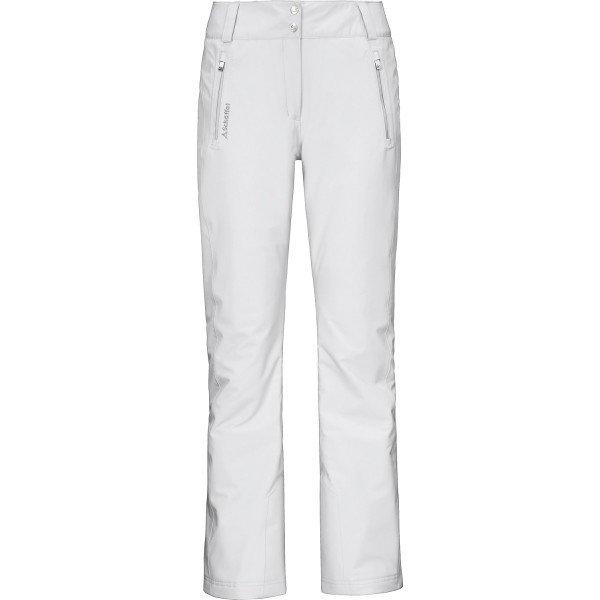 Bílé dámské lyžařské kalhoty Schöffel