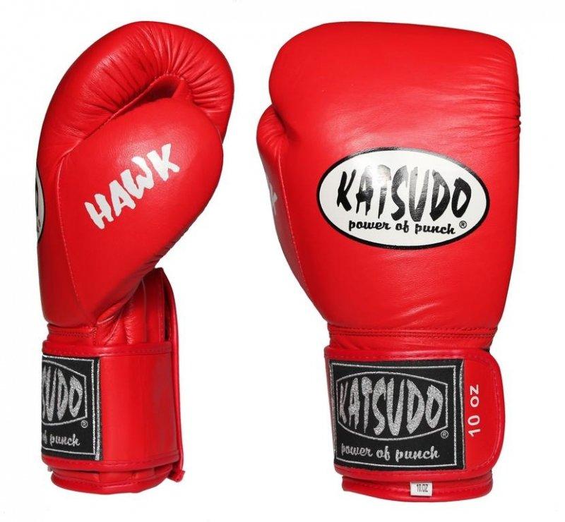 Červené boxerské rukavice Katsudo