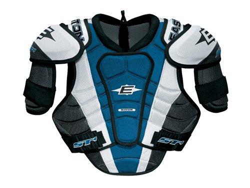 Bílo-modrý hokejový chránič ramen - senior Easton - velikost S