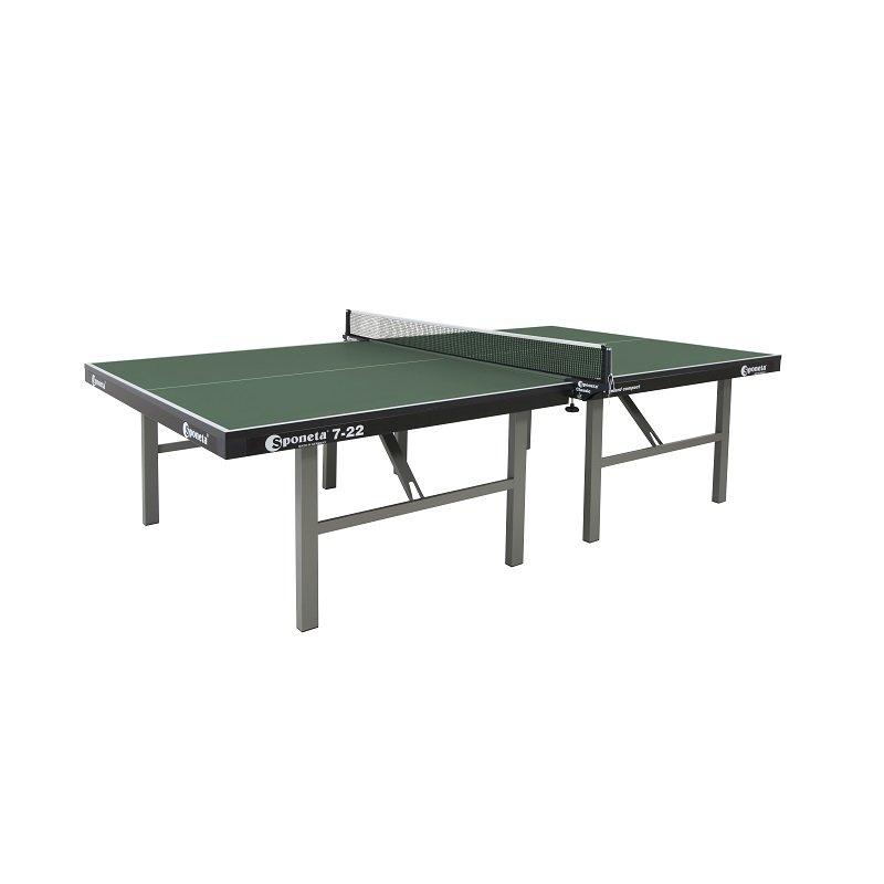 Zelený vnitřní stůl na stolní tenis S7-22i, Sponeta