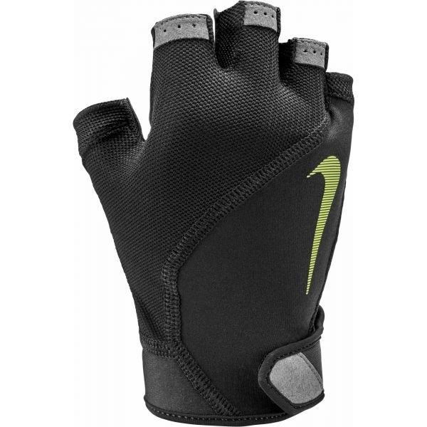 Černé pánské fitness rukavice Nike
