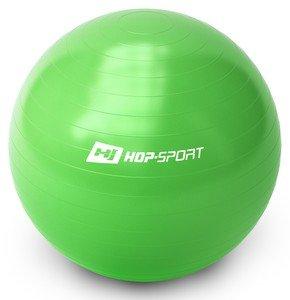 Zelený gymnastický míč Hop-Sport - průměr 65 cm