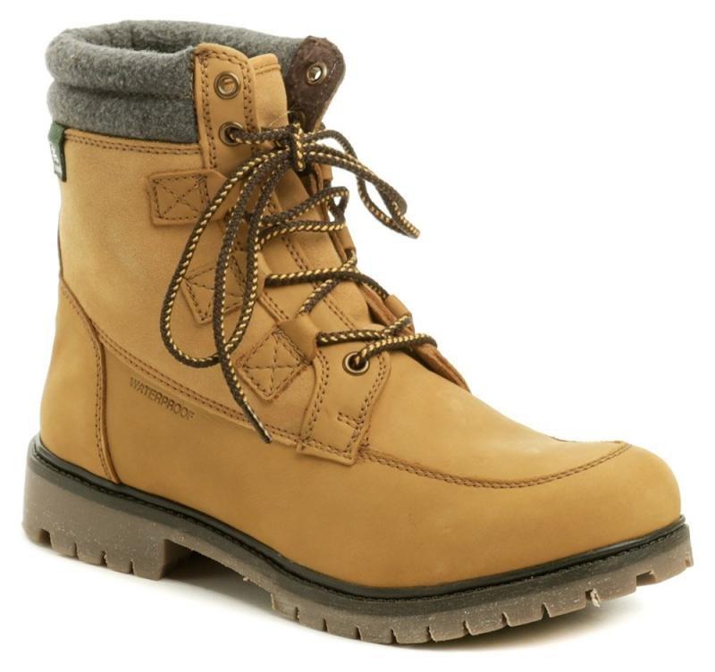 Béžové pánské zimní boty KAMIK - velikost 42 EU