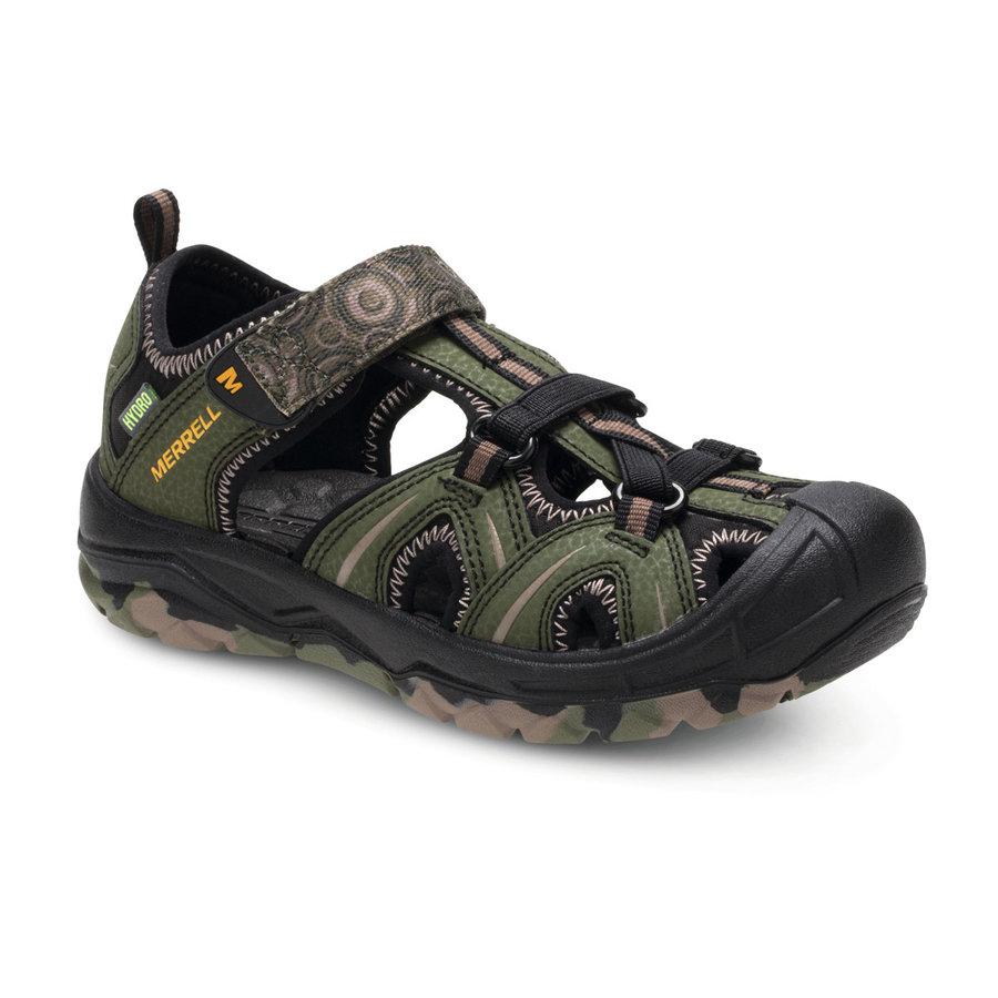 Khaki dětské sandály Merrell