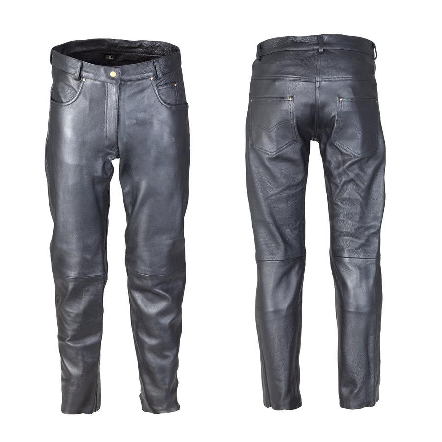 Černé dámské motorkářské kalhoty Annkra NF-1250, W-TEC