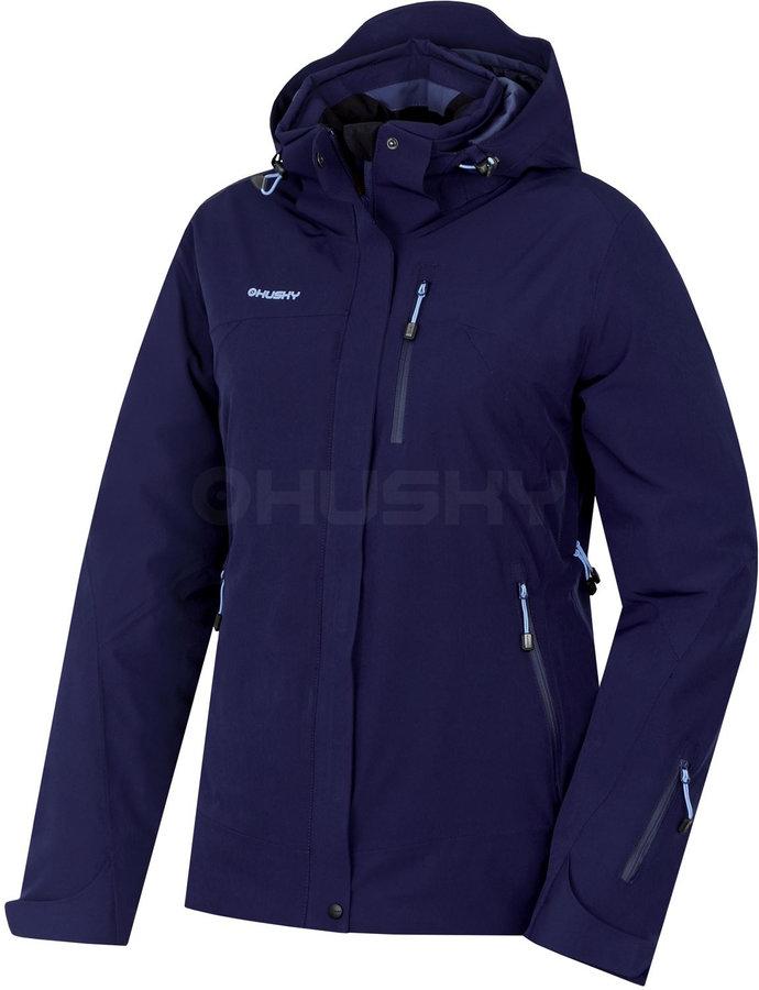 Modrá dámská bunda Husky - velikost L
