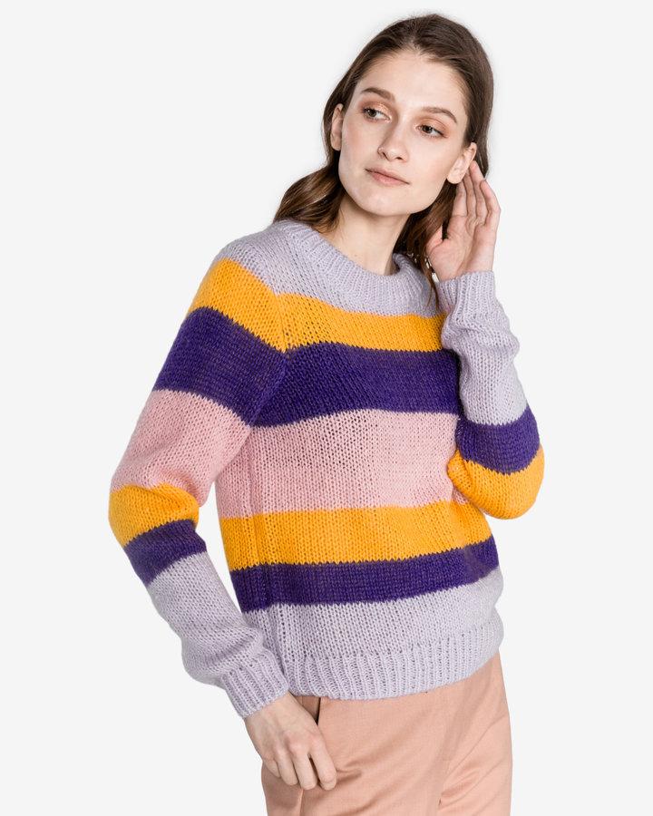 Různobarevný dámský svetr Selected